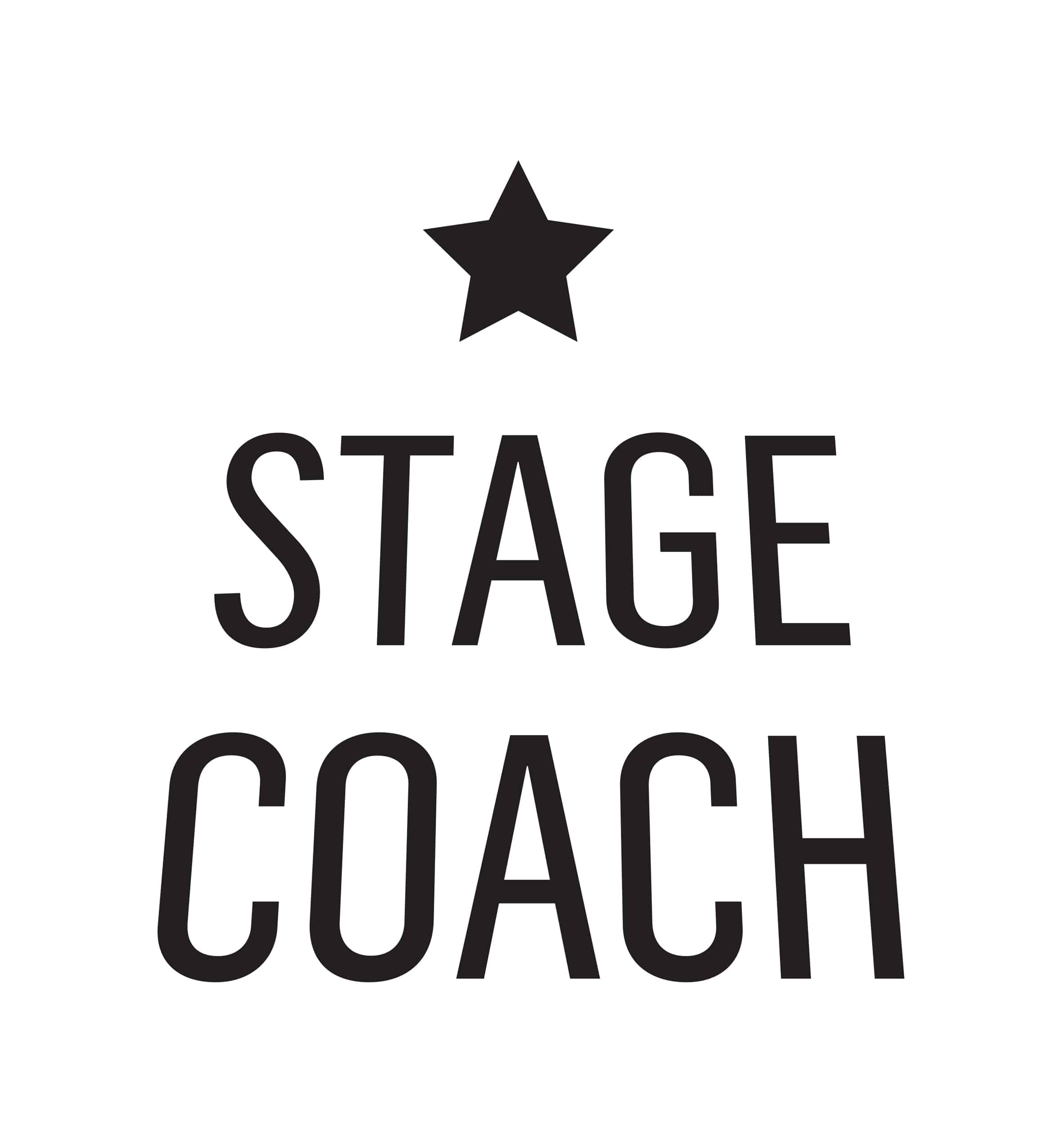 Stage Coach Acting Studio LogotypeLogo