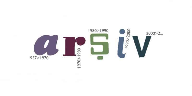Logo for Graphic Design Department Archive, 2005